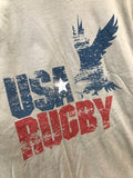 *USA Rugby Retro Stone T-Shirt (RA)