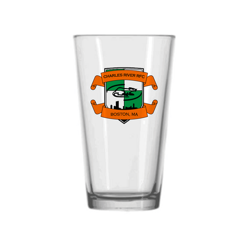 Charles River Pub Pint Glass - Single Glass (STOCK)