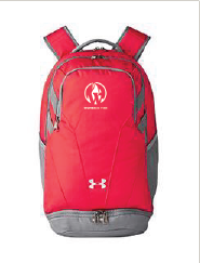 Under Armour Unisex Hustle II Backpack (Women in Fire)