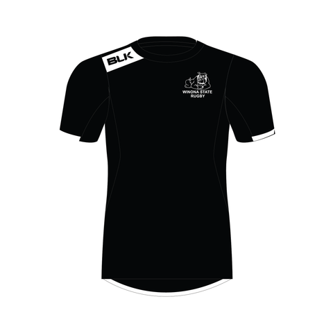 Winona State Men's Rugby - BLK Tech Tee (Pre-Order)