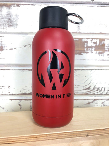 Brea 12oz Vacuum Bottle (Women in Fire)