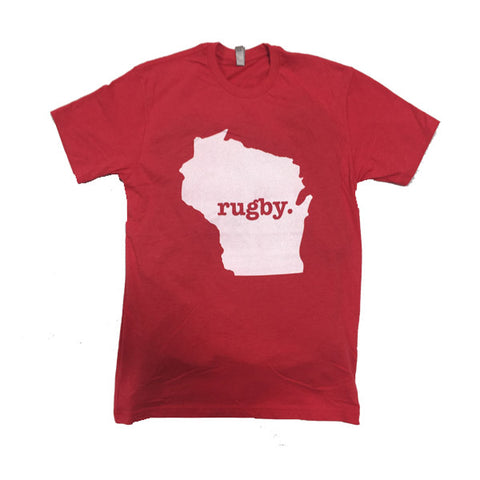 "Wisconsin ""Badger"" Rugby Tee"