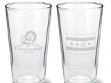Chicago Lions Pint Glass