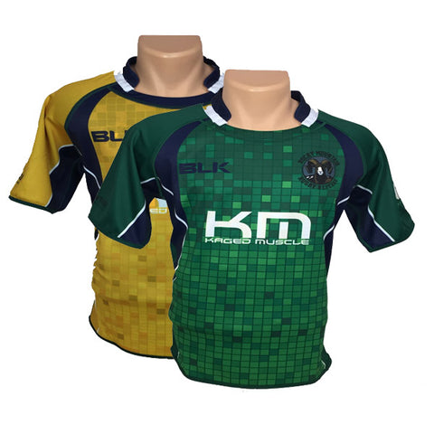 Rocky Mountain Rugby Refs Reversible Jersey (Green/Gold)