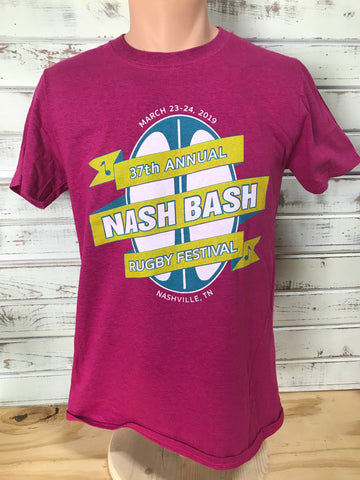 Nash Bash T-Shirt, March 23-24 2019 - Antique Heliconia