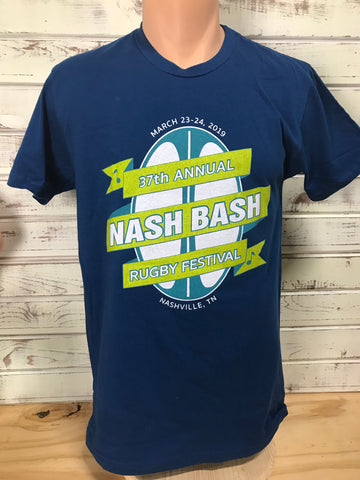 Nash Bash T-Shirt, March 23-24 2019 - Navy