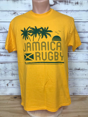 *Jamaica - GOLD! Rugby T-shirt