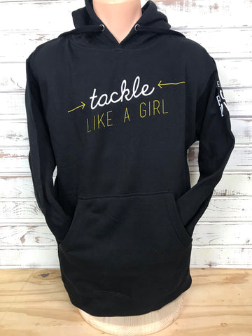 *PRL Hoodie - Tackle Like a Girl Sweatshirt