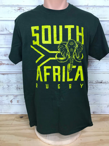 *South Africa - Forest Green Rugby T-shirt