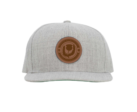 Denver Highlanders 50th Anniversary Snapback Hat - Grey (Pre-Order)