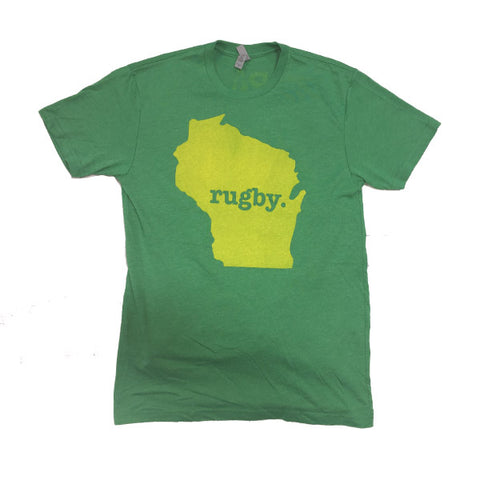 "Wisconsin ""Pack"" Rugby Tee"