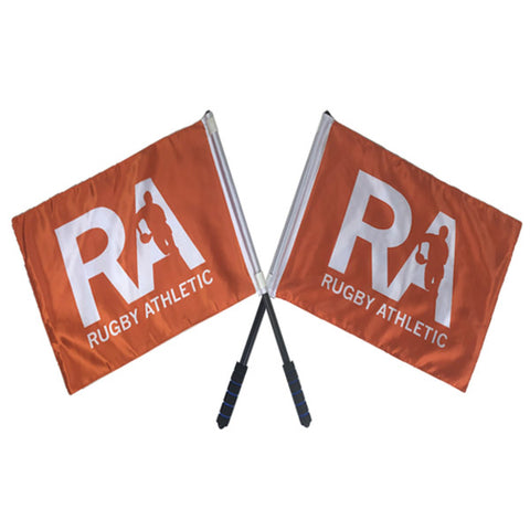 Rugby Athletic Referee Touch Flags