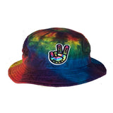Peace Love Tye Dye Bucket Hat