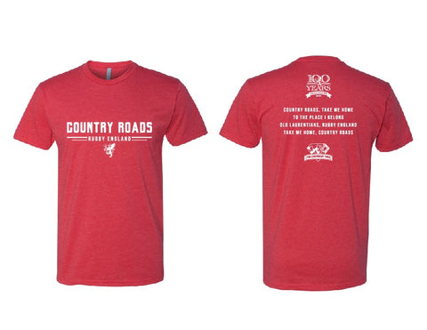 Metropolis Scotland 2019 Country Roads Red Tee