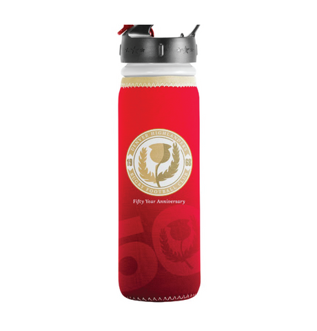 Denver Highlanders 50th Anniversary Water Bottle (Pre-Order)