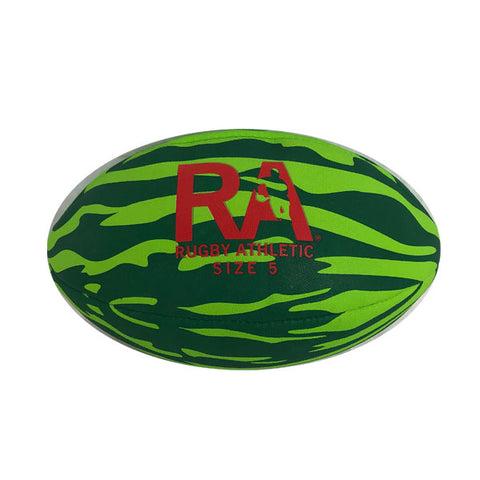 *RA 'Watermelon' Rugby Ball - Size 5