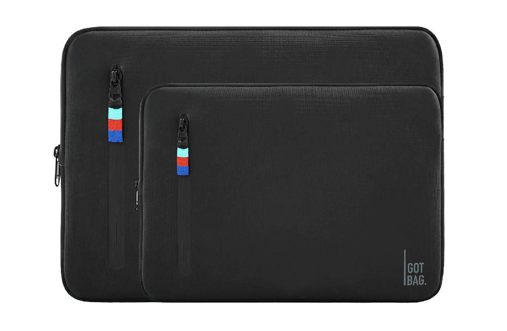 Load image into Gallery viewer, Double zipper laptop sleeve