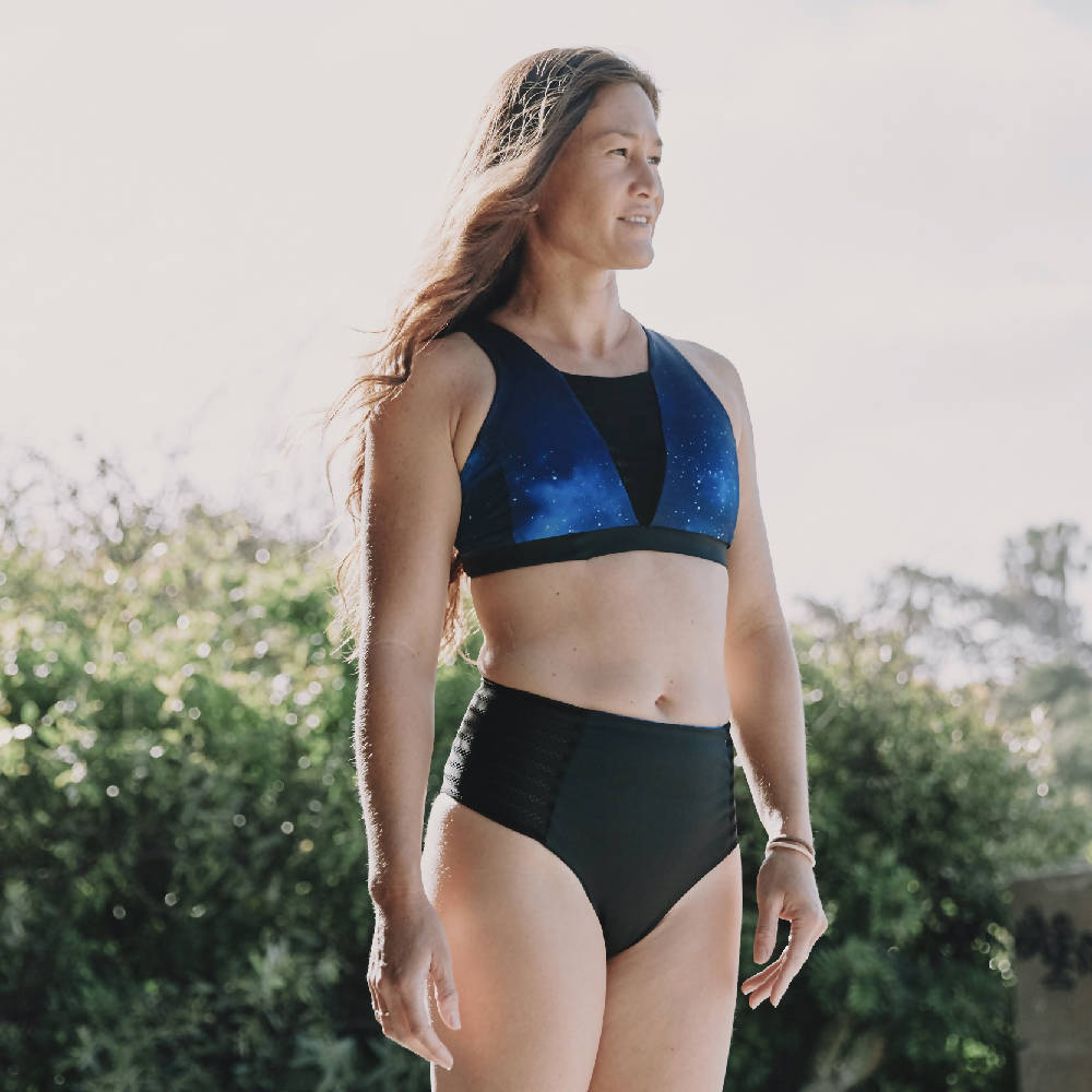 Cloudbreak Reversible Athletic Bikini Bottom