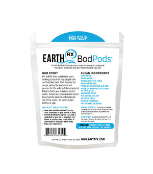 EarthRx Bodpods® Individual Body Wash Pods (2 Pack)