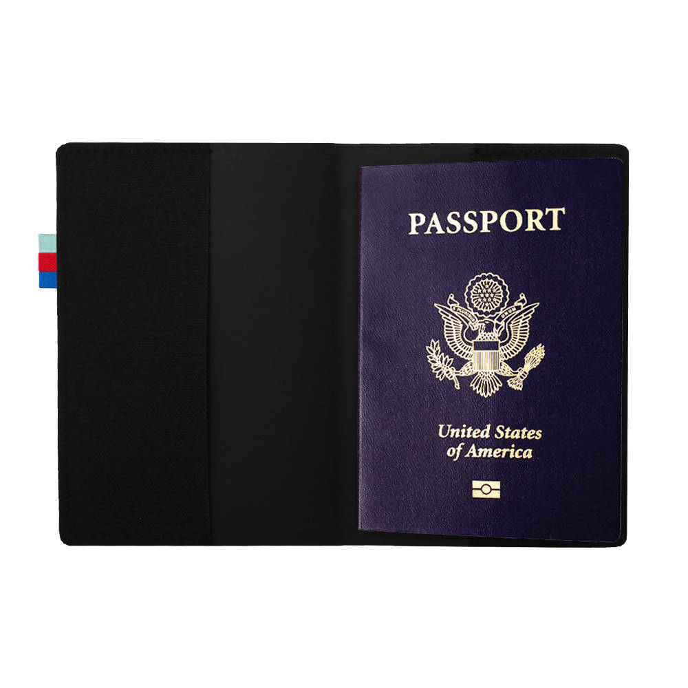 Black Passport Cover