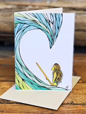 Sea Sister Surfy Greeting Card Pack