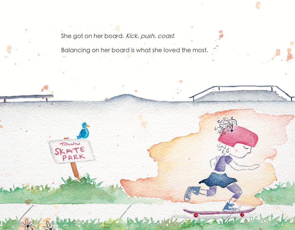 Load image into Gallery viewer, Little Millie Ford and Her New Skateboard - Children's Book
