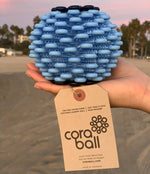 Cora Ball collects microfibers in your laundry that otherwise land in our oceans!