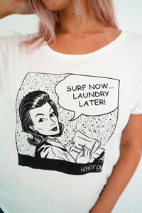 "The ""Surf Now!"" Dolman Tee"