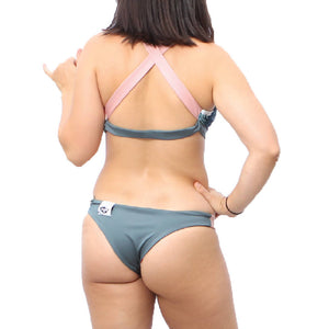 Miho Reversible Athletic Bikini Bottom