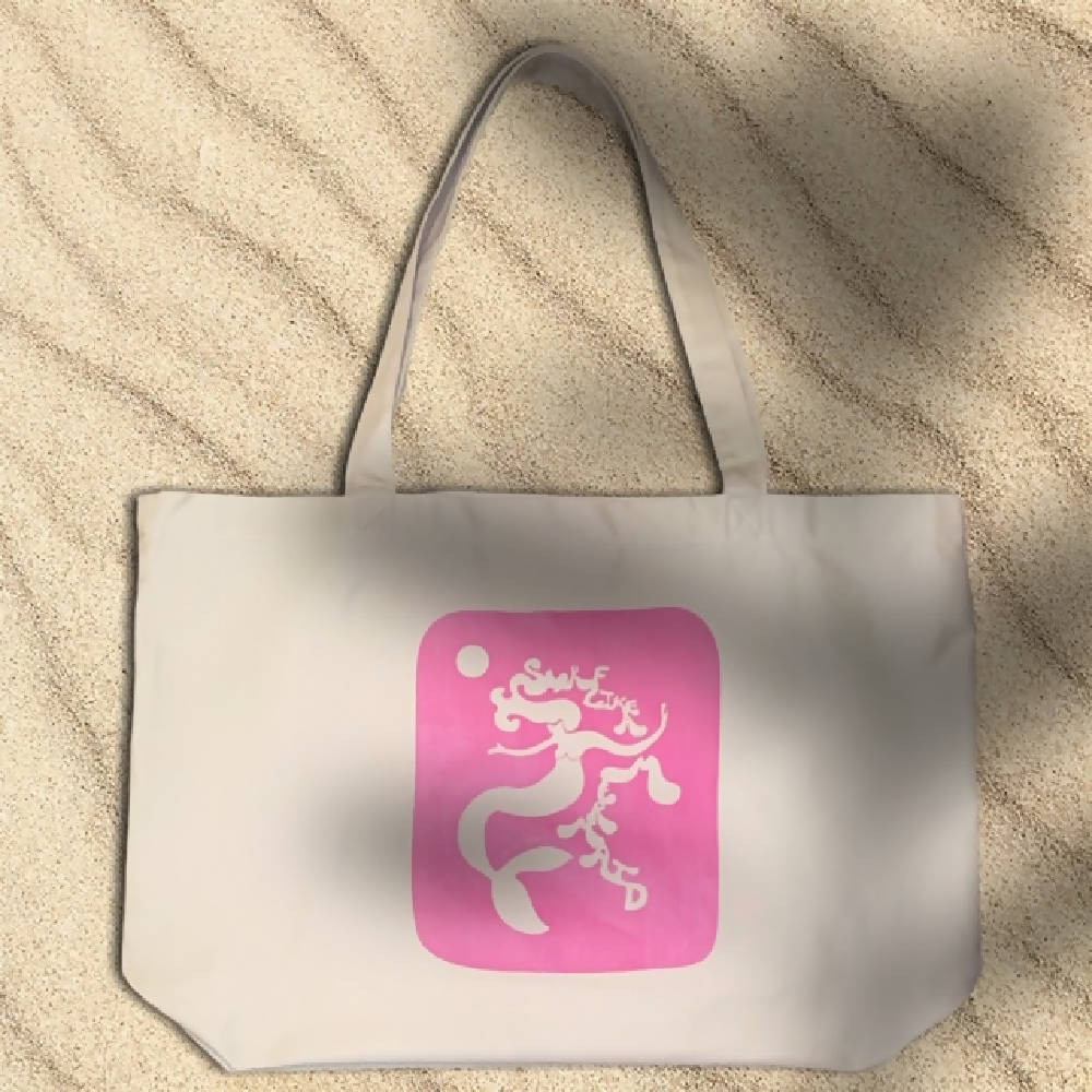 Surf Like a Mermaid Eco Tote