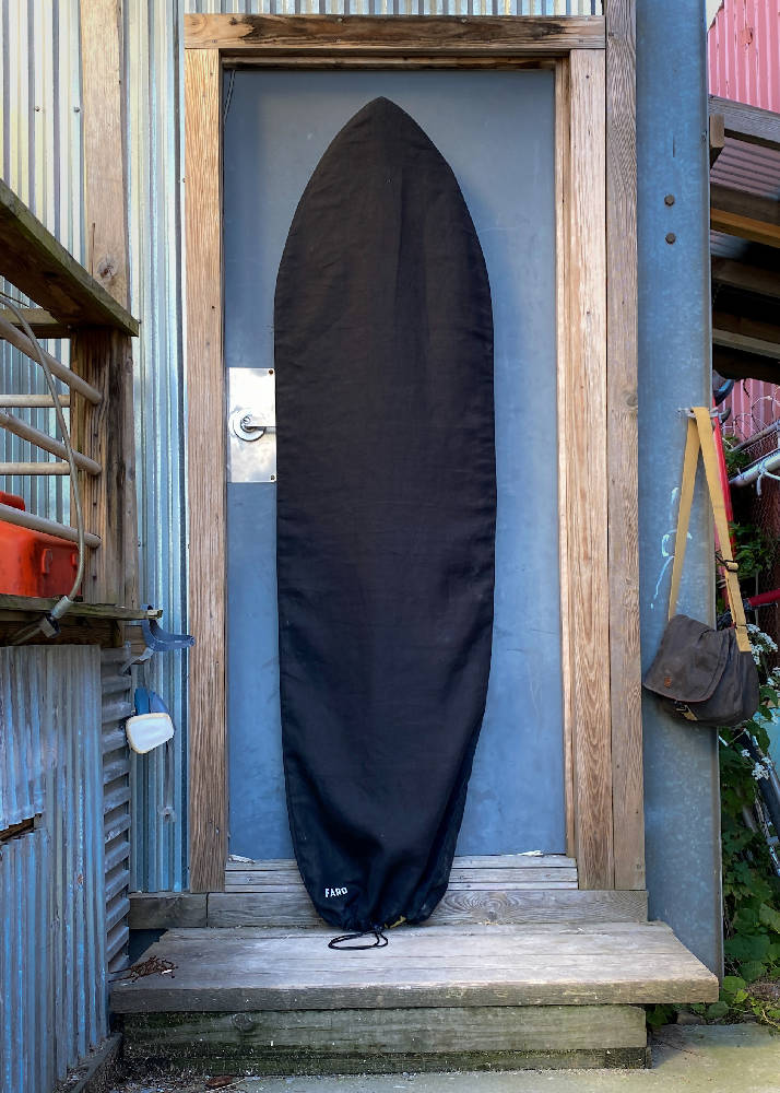 Baja Midnight Black Retro 67 Surfboard Bag