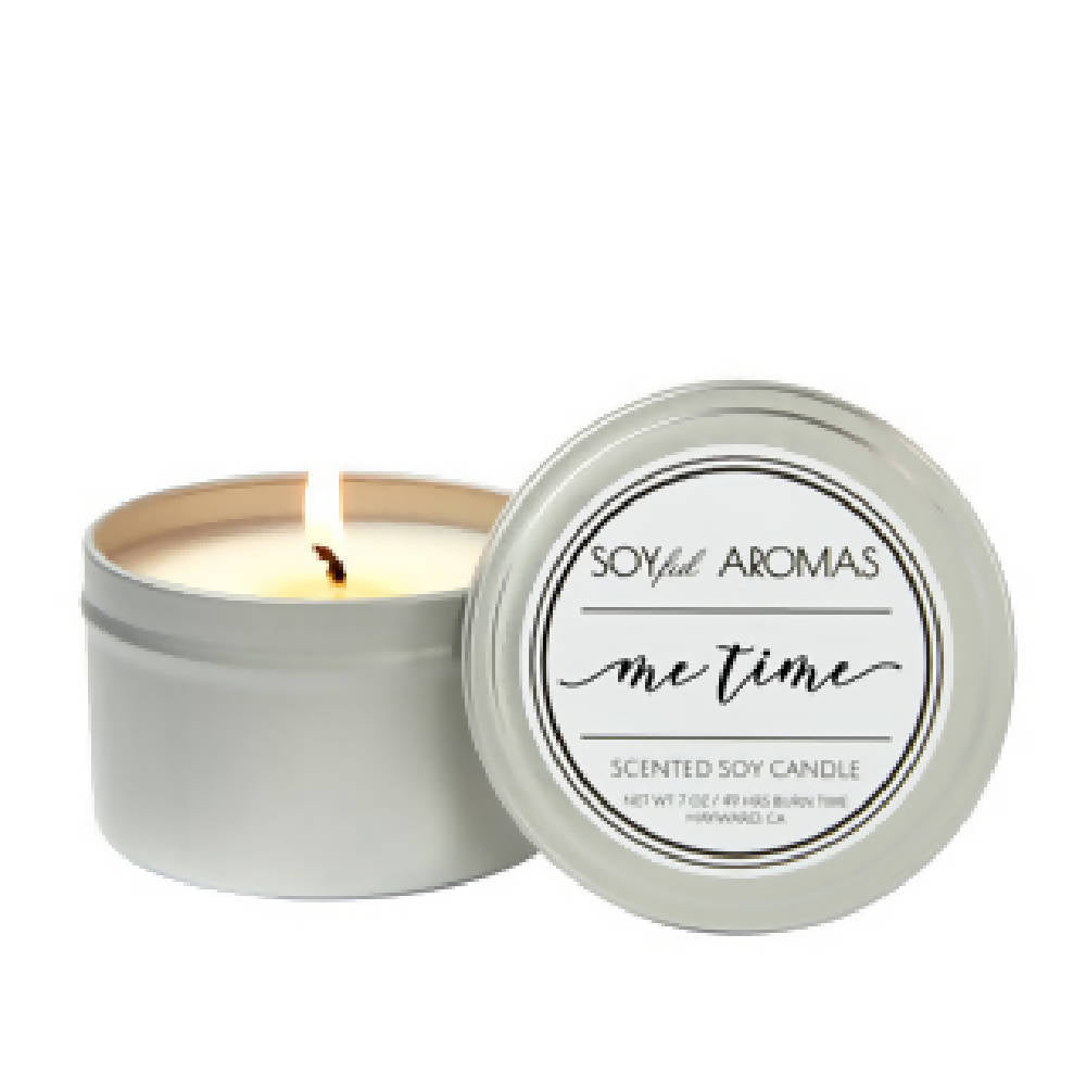 Me-Time Soy Candle- Travel Tin