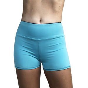 High Waisted Swim Short Reverse
