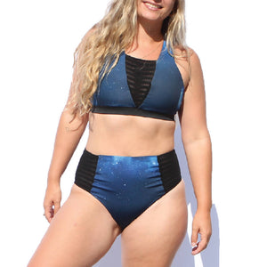 Cloudbreak Reversible Athletic Bikini Bottom - Hakuna Wear