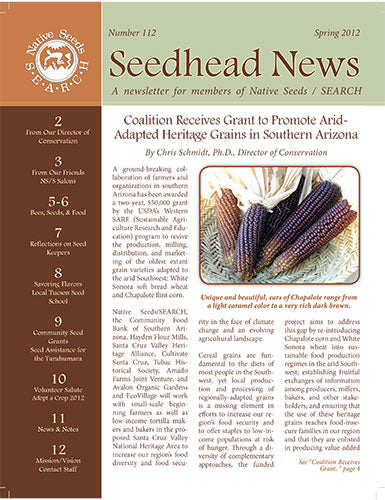 the seedhead news number 112 spring 20112