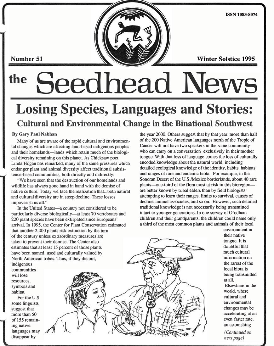 seedhead news winter solstice 1995