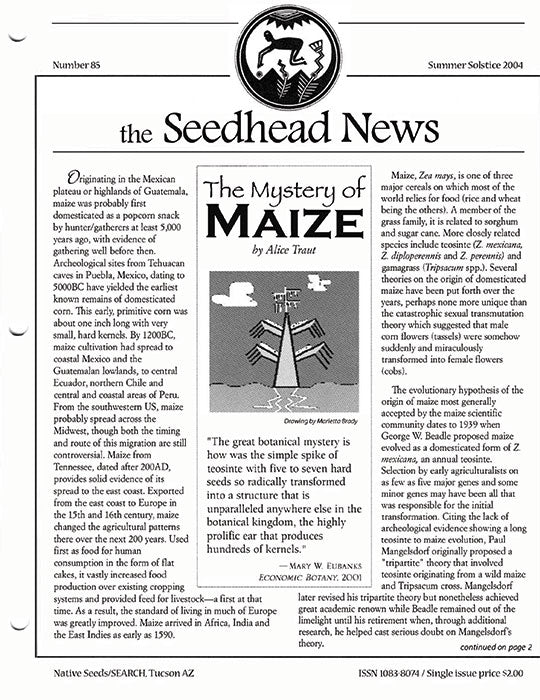 seedhead news number 85 summer solstice 2004