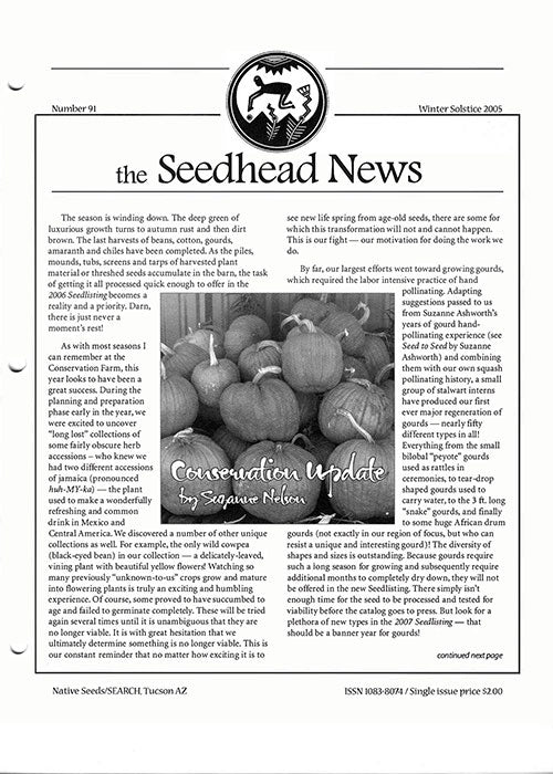seehead news number 91 winter 2005