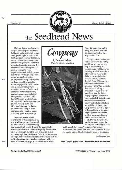 seedhead news no. 95 winter solstice 2006