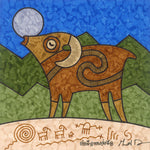 Bighorn Sings to the Moon - Canvas Print