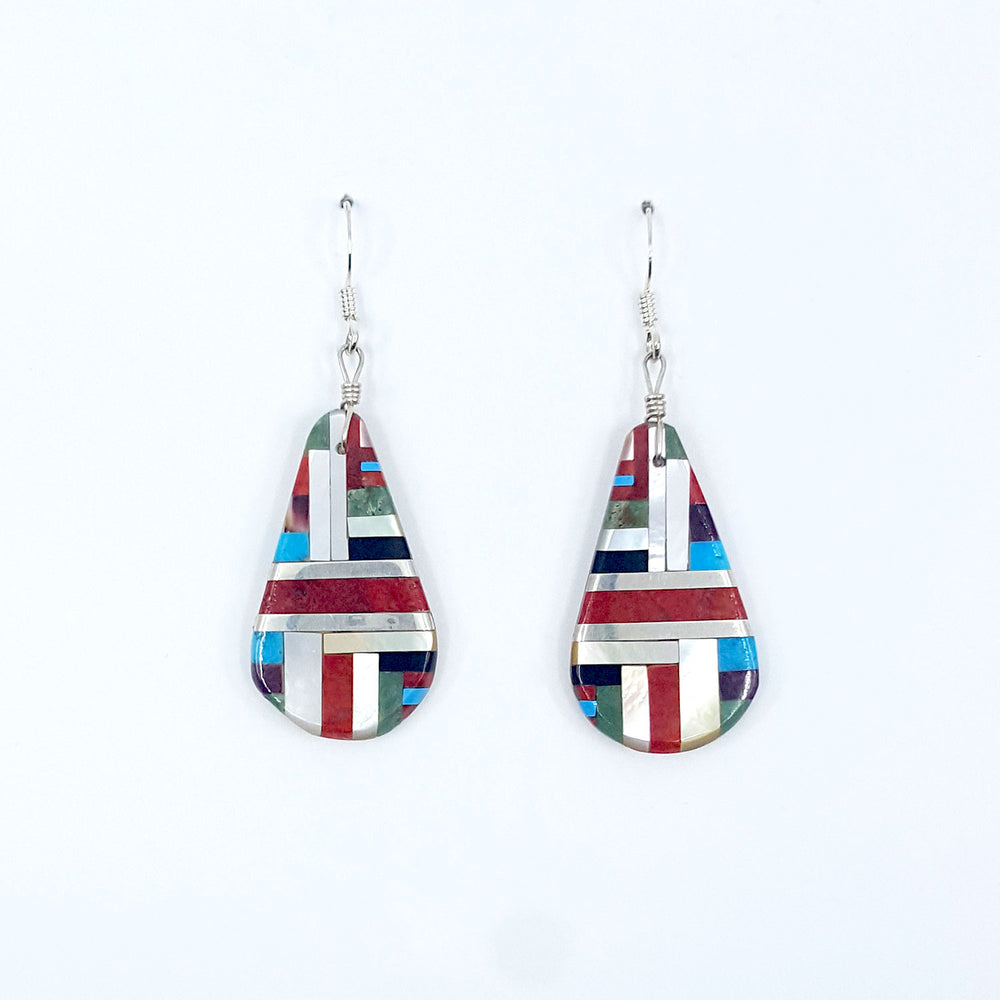 Daniel Coriz: Santo Domingo Inlay Earrings