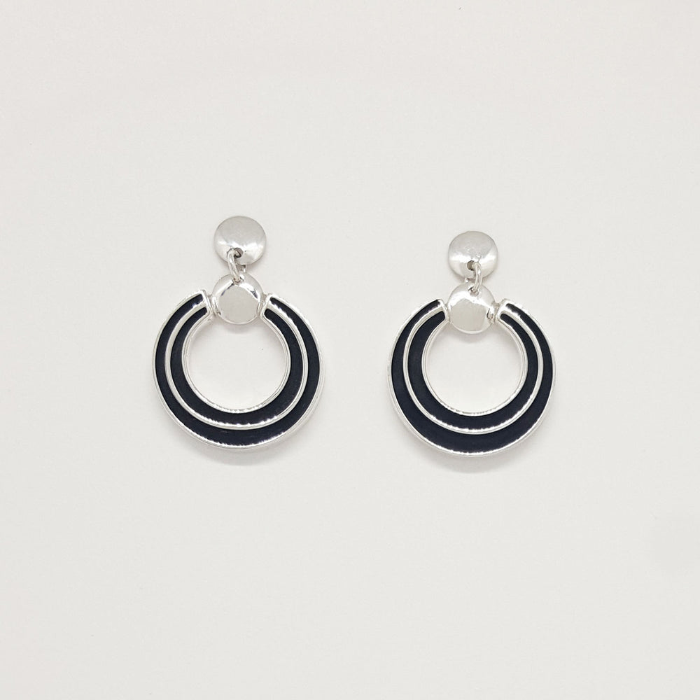 Francis Jones: Circle Track Earrings