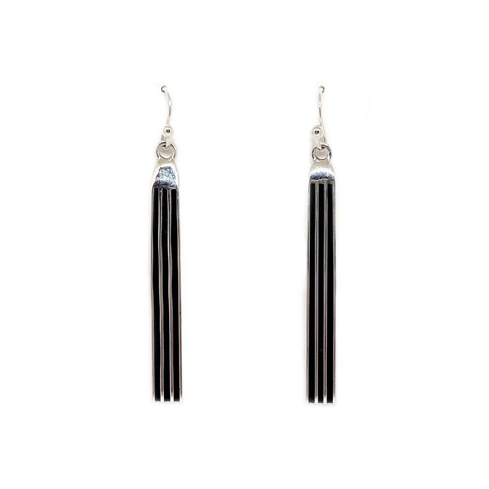 Frances Jones: Bar Track Earrings