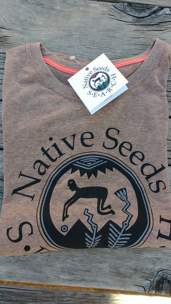 Ecocentric Brown Logo T-Shirt
