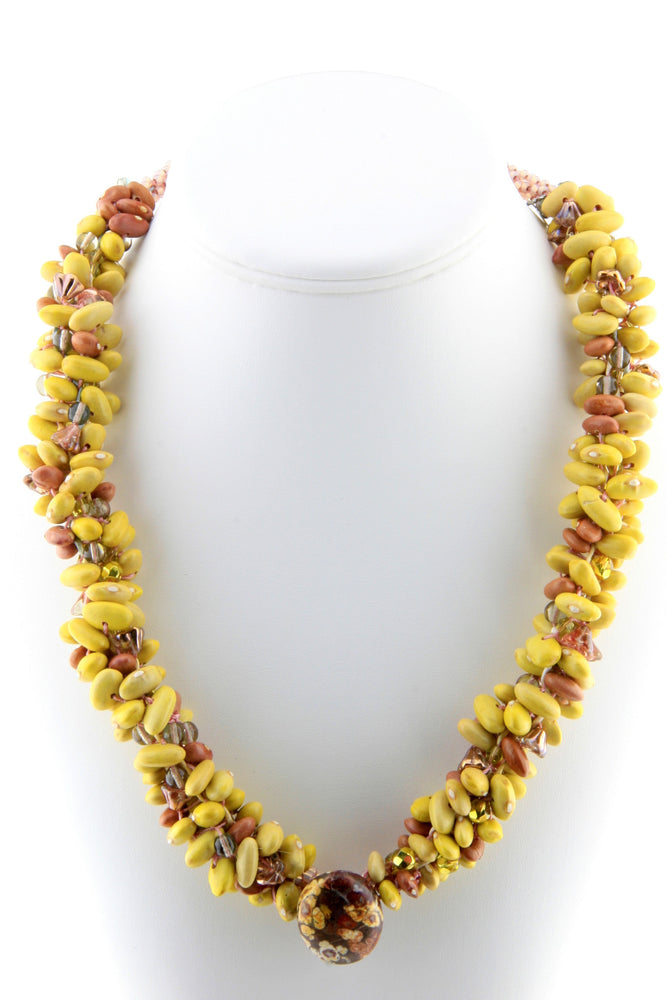 Mayocoba Native Seed Beads Necklace
