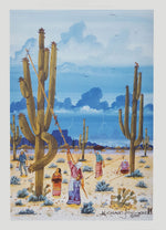 """Saguaro Harvest"" by Michael Chiago"
