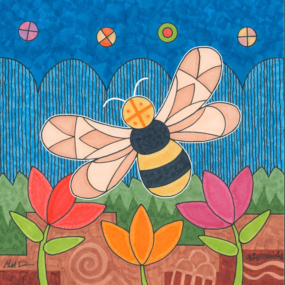 Bee - Canvas Print