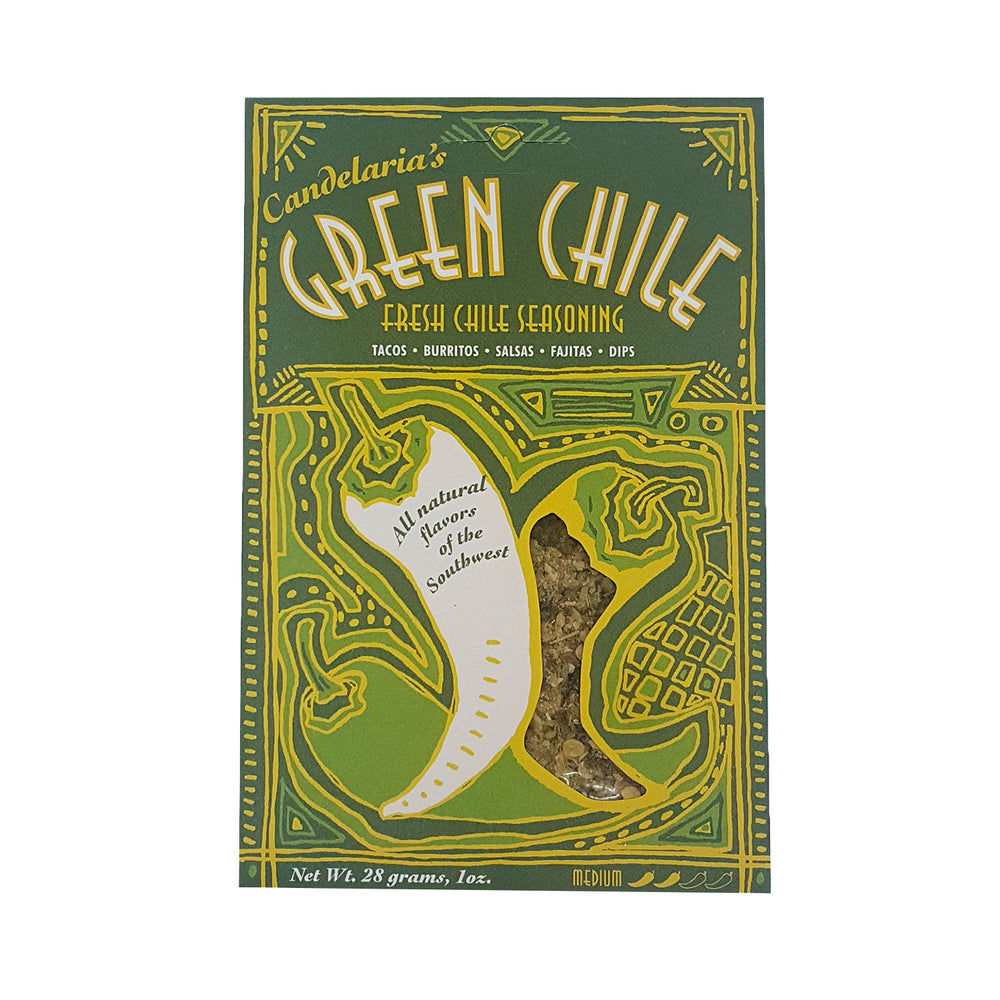 Candelaria's: Green Chile - Fresh Chile Seasoning
