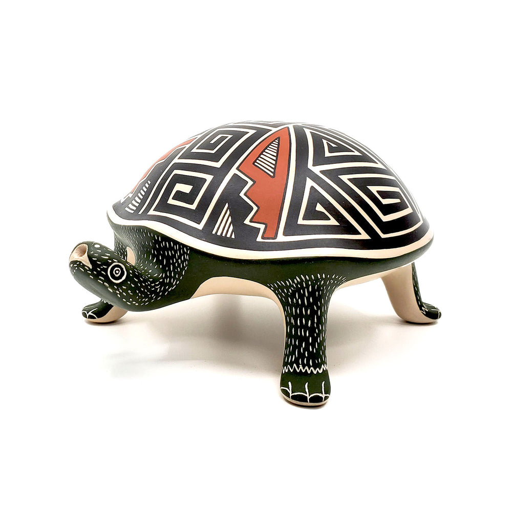 Large Pottery Tortoise Sculpture