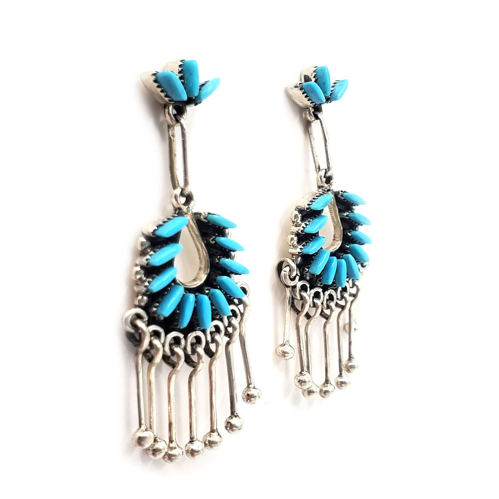 Delicate Zuni Dangle Earrings - Mildred Ukestine